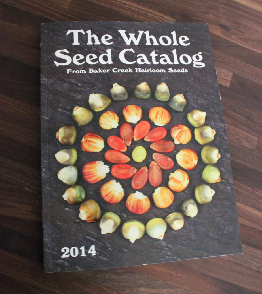 "Baker Creek's ""The Whole Seed Catalog"" 2014"